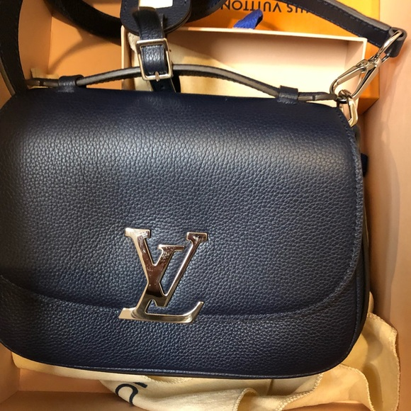 23f269624040 Brand new Neo Vivienne Louis Vuitton navy clutch